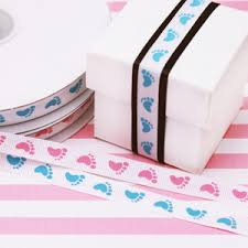 baby ribbon baby grosgrain ribbon 25 yards baby shower favors