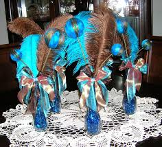 Peacock Decorations by Peacock Table Decoration Ideas