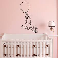 Nursery Quotes Wall Decals by Winnie The Pooh Wall Decal Sticker Classic Winnie The Pooh