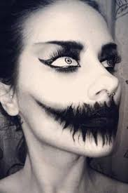 how to do halloween makeup 25 best scary halloween makeup images on pinterest halloween