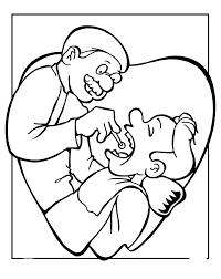 preschool dental coloring pages 358784