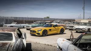 amg gt roadster sound und fahrcheck in arizona alles auto