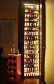Glass Display Cabinet For Cafe Detroit American Flag Themed Shot Glass Display For Basement U0026 Man