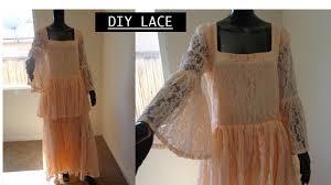 lace ruffled maxi diy how to make a maxi dress zip method