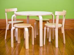 childrens table and stools table and chairs wood best home chair decoration