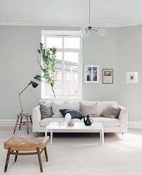 Light Gray Walls | light grey home with a mix of old and new gray lights and