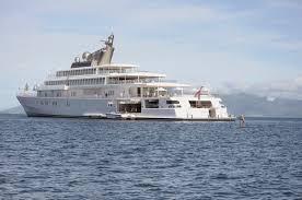 barack and michelle obama vacation photos on david geffen u0027s yacht