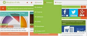 cara membuat menu dropdown keren tutorial cara membuat menu di blog dengan mudah bbt blog baca tulis