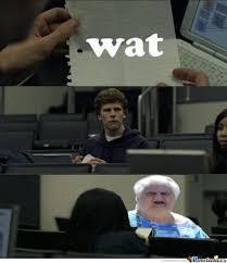 Wat Meme Old Lady - wut meme old lady