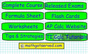 ap calculus cal ab exam survival kit guide formula course exams ti