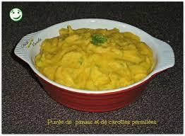 cuisiner des panais purée de panais et carottes persillées chez vanda
