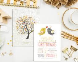 bird wedding invitations bird invitation etsy