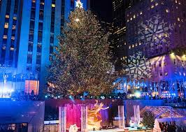 rockefeller tree lighting attracts thousands afro