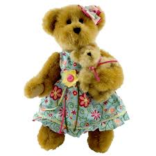 s day teddy bears boyds bears plush flora and lil bell luvinbloom s day