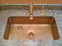 copper kitchen sinks add a touch of elegance to any kitchen home