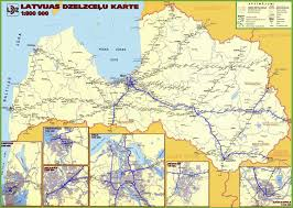 Germany Rail Map by Latvia Railway Map
