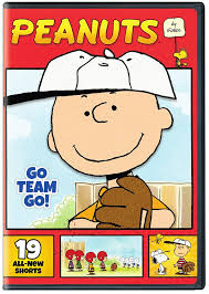 charlie brown thanksgiving dvd peanuts by schulz go team go dvd lovebugs and postcards