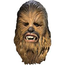 spirit halloween chewbacca rubies star wars latex mask chewbacca amazon co uk toys u0026 games