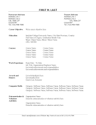 resume format for accountant doc resume for your job application