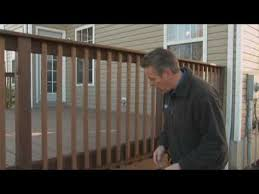 tips on deck renovation part 1 installing composite deck posts