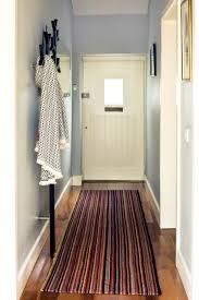 Blue Rug Runners For Hallways Residential Entrance Hallway Carpet Runner Soft Blue