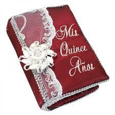 Photo Album Guest Book Quinceanera Photo Album Guest Book Kneeling Tiara Pillows Bible