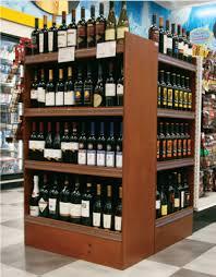 get 4 shelf wooden wine display racks u2013 intermarket technology