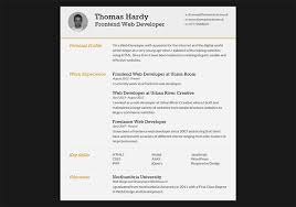 Interactive Resume Template 28 Free Cv Resume Templates Html Psd U0026 Indesign Web
