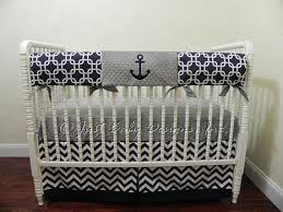 Anchor Bedding Set Nautical Crib Bedding Set Nelson Boy Baby Bedding Anchor