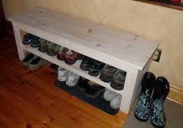 Home Depot Shoe Bench Endearing Shoe Rack Organizer Closet Roselawnlutheran