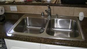 Kitchen Sink Install Enthralling Replacing A Kitchen Sink Verdesmoke Salevbags
