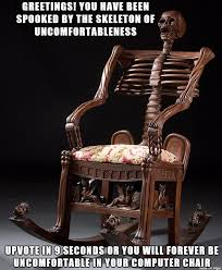 Meme Chair - classic mr skeltal chair meme by smartstocks on deviantart