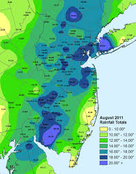 Map Of Hudson County Nj Office Of The New Jersey State Climatologist