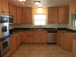 oak cabinets with granite countertops home design
