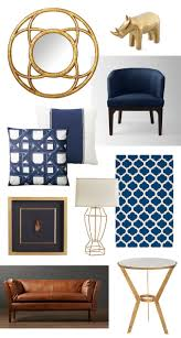 navy and gold home decor living room ideas pinterest navy