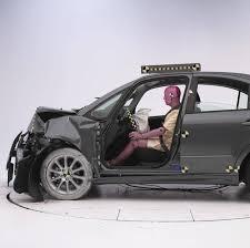 bugatti crash test wrecked iihs suzuki sx4 crash test