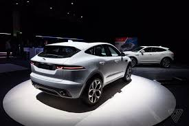jaguar jaguar reveals e pace the crossover suv for millennial couples