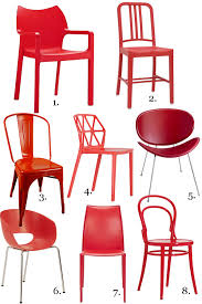 Metal Outdoor Dining Chairs Gorgeous Red Dining Chairs U2014 Eatwell101
