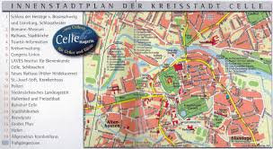 Lubeck Germany Map by Guide To Bach Tour Celle Maps