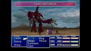 ff7 cait sith game over instint kill on ruby weapon youtube