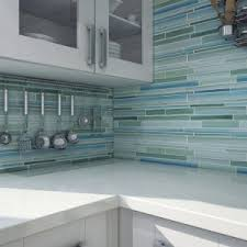 Painted Glass Backsplash Ideas by Decorating Beach Break Hand Painted Glass Mosaic For Glass