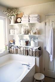 remarkable bathroom shelf ideas small decorating white stripes