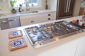 Wall Oven Under Cooktop Downdraft Option With Island Cooktop U0026 Wall Oven Directly Under