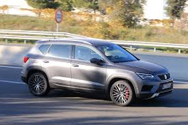 seat ateca blue seat ateca cupra spied in full view while testing in spain