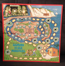 the board from the sigmund and the sea monsters milton bradley