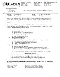 resume pest control workers sample resumes