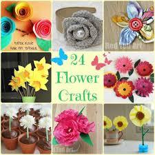 Flowers For Crafts - flower craft ideas wonderful spring summer u0026 mother u0027s day ideas