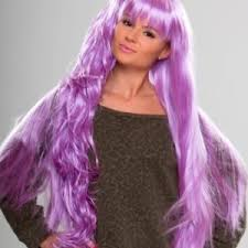 Light Purple Wig Coloured Wigs From Bright Pink To Icey Blue Wonderland Wigs