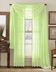 Lime Green Valances Lime Green Sheer Panel Moshells