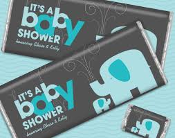 buy hershey baby shower favors for boys personalized candy